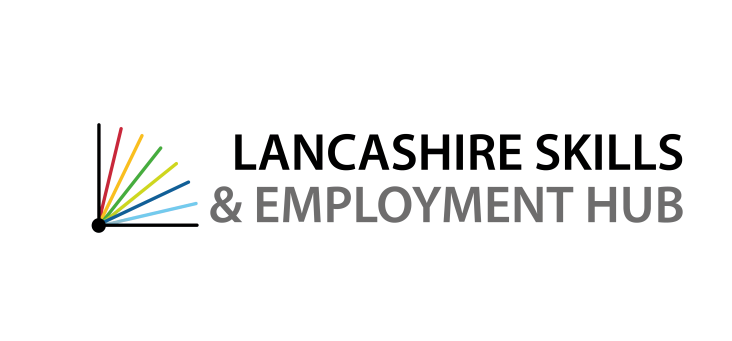 Lancashire skills and employment hub logo